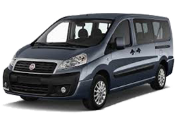 Накладки на пороги для Fiat (Фиат) Scudo 2 2007-2016