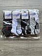 Чоловічі носки шкарпетки короткі Kardesler з бавовни однотонні 40-45 12 шт в уп асорті кольорів, фото 2