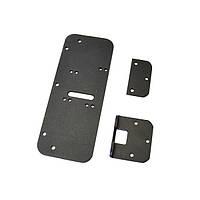 Комплект деталей для металлопластиковых дверей (черный)