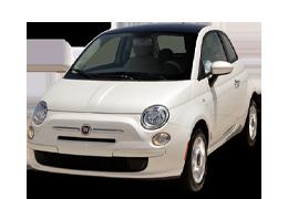 Накладки на пороги для Fiat (Фиат) 500 2007+