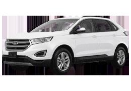 Накладки на пороги для Ford (Форд) Edge CD4 2014+