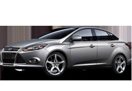 Накладки на пороги для Ford (Форд) Focus 3 2011-2018