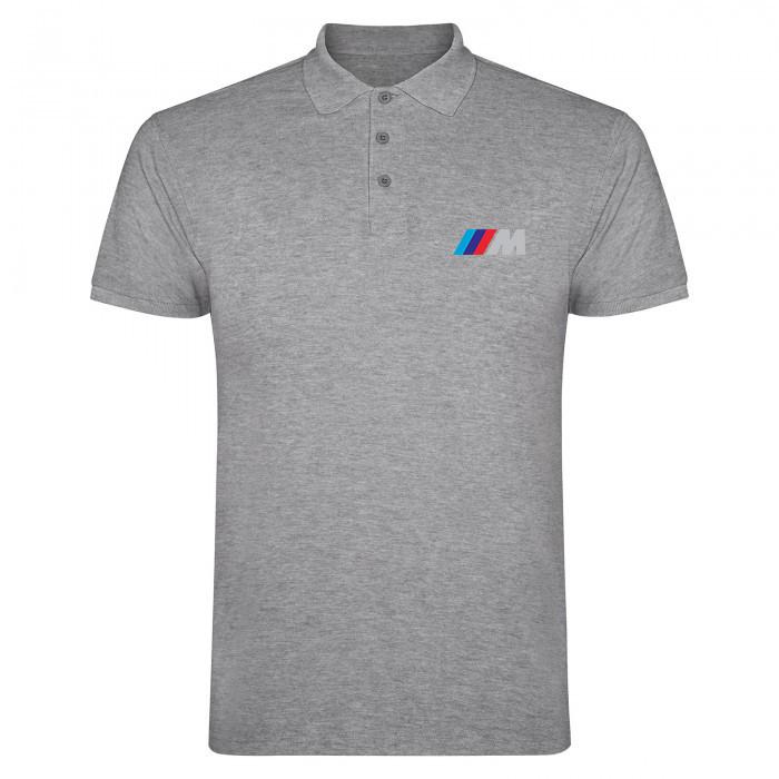 Мужское поло БМВ, футболка с воротником БМВ