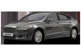 Накладки на пороги для Ford (Форд) Mondeo 5 2014+