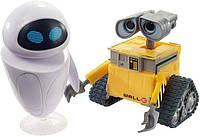 Фигурка Wall-e i Eve Disney Pixar Mattel GLX80 GLX86