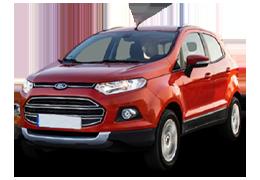Накладки на пороги для Ford (Форд) EcoSport 2 2012+