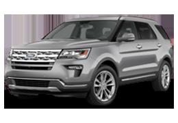 Накладки на пороги для Ford (Форд) Explorer 5 2010-2019