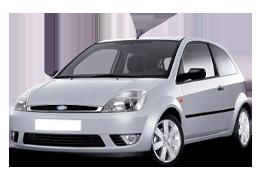 Накладки на пороги для Ford (Форд) Fiesta 5 2002-2008