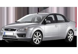 Накладки на пороги для Ford (Форд) Focus 2 2004-2011