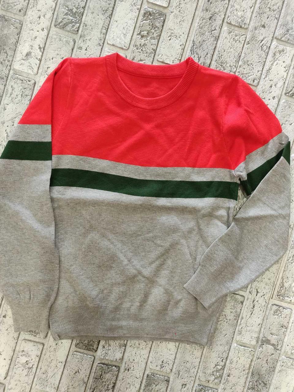 Яркий женский свитер спортивного стиля (42-44)