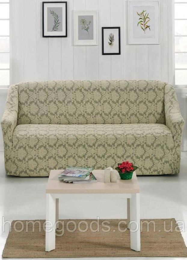 Чохол на диван з цупкої тканини