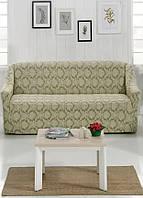 Чехол на диван из плотной ткани