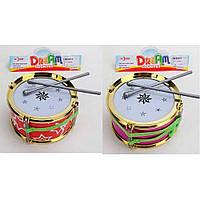 Барабан 2 кольори 15,5см 016-5-6