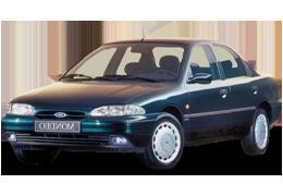 Накладки на пороги для Ford (Форд) Mondeo 1/2 1993-2001