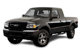 Накладки на пороги для Ford (Форд) Ranger II 2007-2011