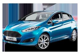 Накладки на пороги для Ford (Форд) Fiesta 6 2008-2017