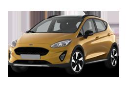 Накладки на пороги для Ford (Форд) Fiesta 7 2017+