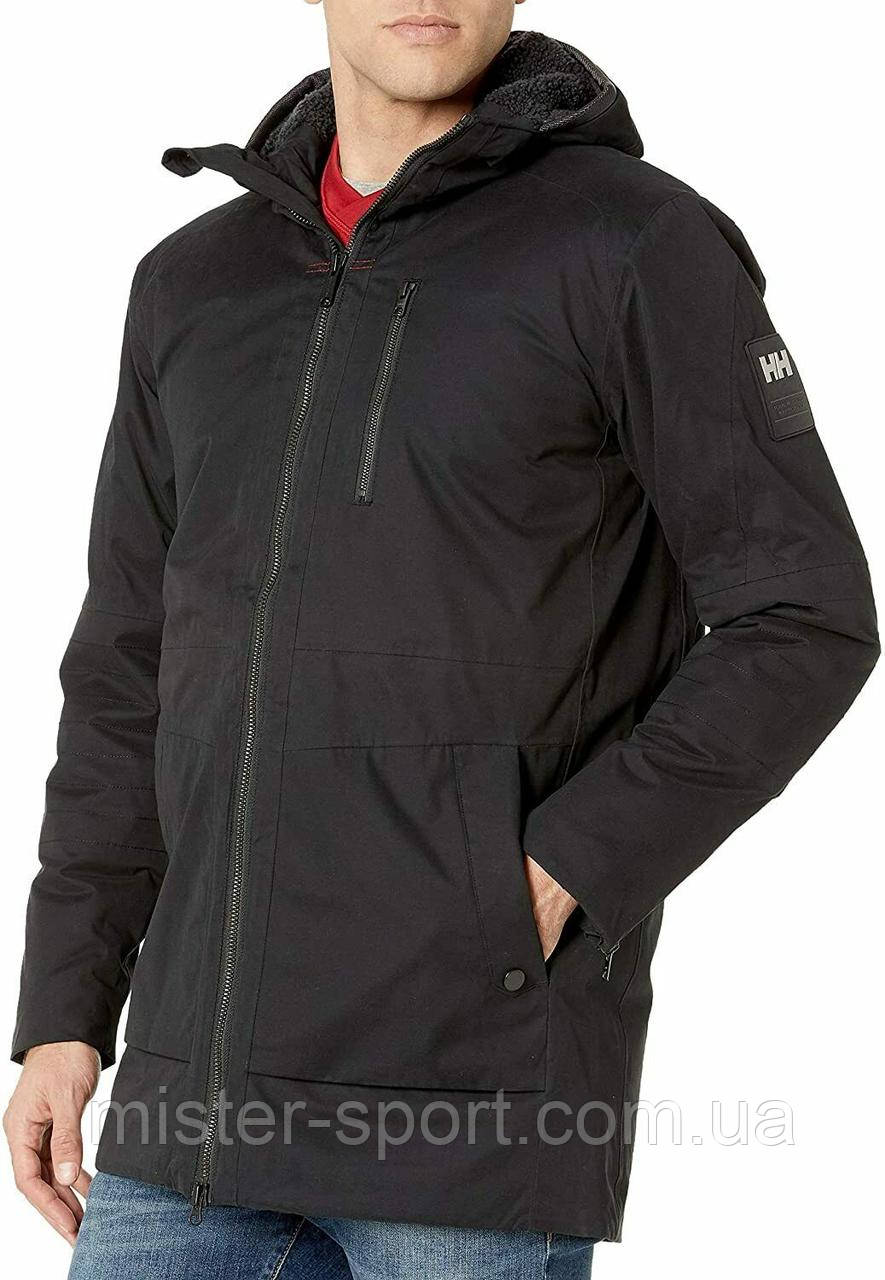 Мужская куртка Helly Hansen Men's Njord Parka, Black, XL
