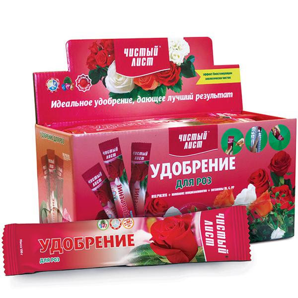 Удобрение ЧИСТЫЙ ЛИСТ для роз, 100 г