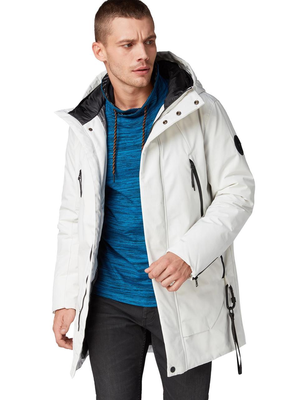 Куртка зимняя Tom Tailor 1012116 L Белый