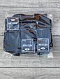 Чоловічі шкарпетки бавовна Житомир стрейчеві класичні 27-29 12 шт в уп чорні, фото 3
