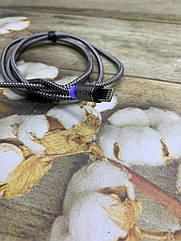 Магнитный USB кабель TOPK 1метр с LED подсветкой Lightning (для iPhone)