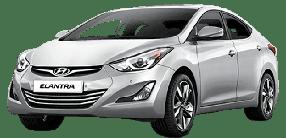 Накладки на пороги для Hyundai (Хюндай) Elantra 5 MD/UD 2010-2015