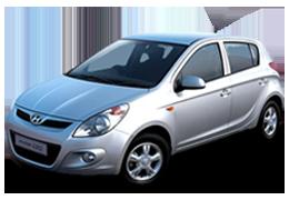 Накладки на пороги для Hyundai (Хюндай) i20 1 (PB) 2008-2014
