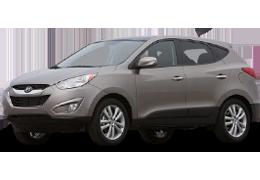 Накладки на пороги для Hyundai (Хюндай) ix35/ Tucson 2 2010-2015