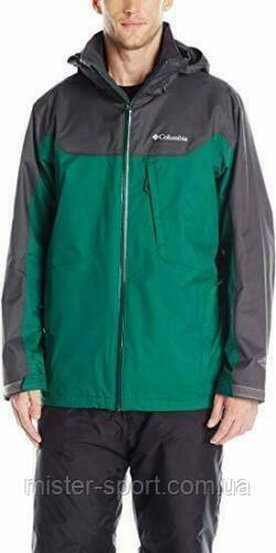 Мужская куртка Columbia Men's Big Whirlibird Interchange Jacket, Wildwood Green/Shark, 2XL, 3в1