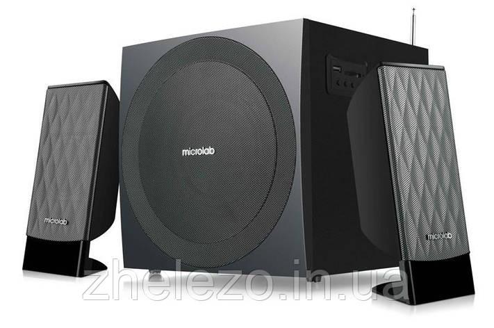 Акустична система Microlab M-300U Black, фото 2