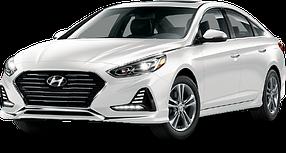 Накладки на пороги для Hyundai (Хюндай) Sonata 7 (LF) 2014-2019