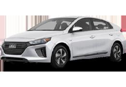 Накладки на пороги для Hyundai (Хюндай) Ioniq 2016+