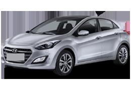 Накладки на пороги для Hyundai (Хюндай) i30 2 (GD) 2012-2016