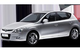 Накладки на пороги для Hyundai (Хюндай) i30 1 (FD) 2007-2012
