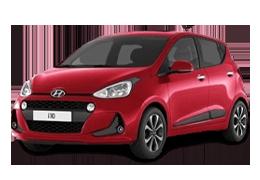 Накладки на пороги для Hyundai (Хюндай) i10 1 2007-2014