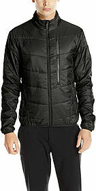 Мужская куртка Spyder Men's Mandate Full Zip Coat, Black/Polar, M размер