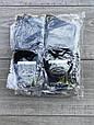 Чоловічі шкарпетки носки середні бамбук Монтекс однотонні безшовні 200 голок 41-44 12 шт в уп мікс кольорів, фото 4