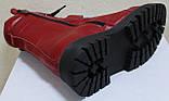 Ботинки высокие женские зимние кожаные от производителя модель КЛ230, фото 5