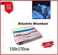 Простирадло електрична з сумкою Electric Blanket 150х170см, фото 1