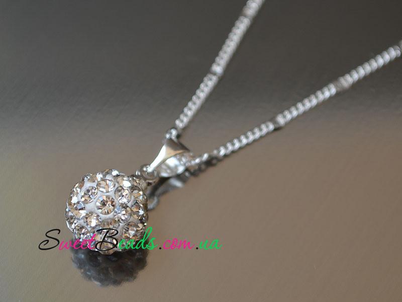 Кулон Шамбала на цепочке, кристалл
