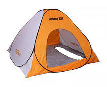 """Палатка """"Fishing ROI"""" Storm -2 зимняя (200*200*135см.) white-orange"""