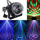 Светодиодный дискошар Led Party Light с пультом, фото 3