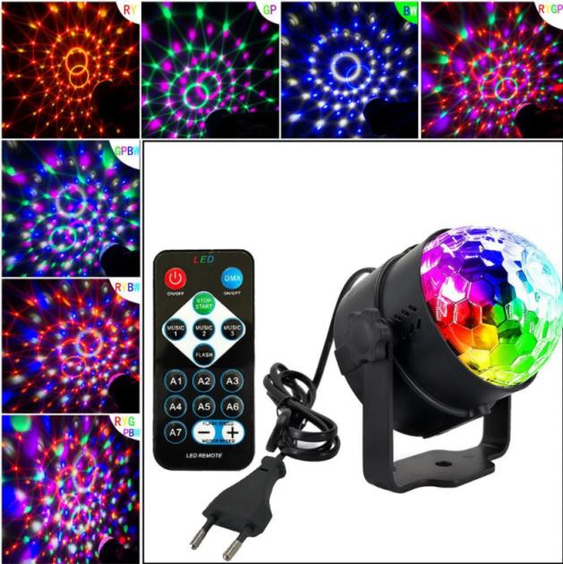 Светодиодный дискошар Led Party Light с пультом