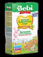 Каша безмолочная гречневая низкоаллергенная с пребиотиками Bebi Premium, 200 г