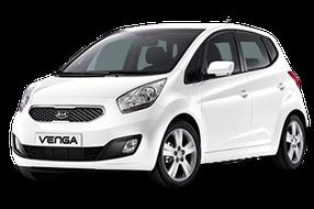 Накладки на пороги для Kia (Киа) Venga 2010-2017