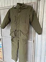 Зимовий костюм для полювання та риболовлі непромокальний ХАКІ