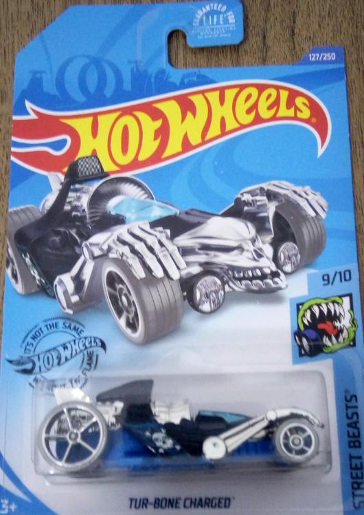 Машинка Hot Wheels 2020 Tur-Bone Charged