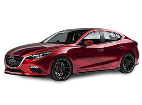 Накладки на пороги для Mazda (Мазда) 3 III (BM) 2013-2019