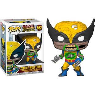 Фигурка Funko Pop Фанко Поп Марвел Зомби Росомаха Marvel Zombies Wolverine 10 см MZ W 662